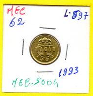 MEC 62 / - Macau Portugues  - / 10 Avos 1993 / Ex/ Colonia- L-597 - Macao