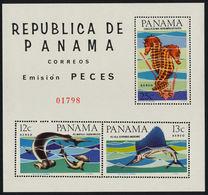 Panama, Fish,1966, S/s Block - Poissons