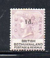 XP5033 - BECHUANALAND 1888  Yvert N. 24  *  Linguella Forte - Bechuanaland (...-1966)