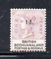 XP5033 - BECHUANALAND 1888  Yvert N. 24  *  Linguella Forte - 1885-1895 Colonia Britannica