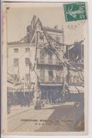 CARTE PHOTO P. CHAMBOSSE ROANNE (42) : CONCOURS MUSICAL DE ROANNE 1906 - MAGASIN D'ARMES & COUTELLERIE - 2 SCANS - - Roanne