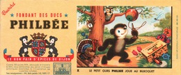 Ancien BUVARD Illustré PHILBEE Pain D'épices De DIJON - Gingerbread