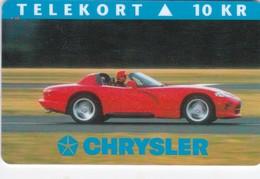 Denmark, P 014A, Mint, Chrysler, Only 1000 Issued, Car. - Danimarca