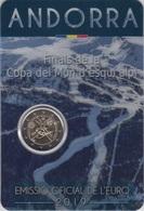 """Moneda 2€ 2019 Andorra """"Esqui"""" - Andorra"""