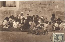 CPA Tunisie La Lecture Du Coran - Tunisie