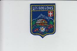 ECUSSON TISSU BRODE - LES BOSSONS - Ecussons Tissu