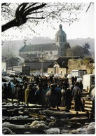 Figeac Jour De Foire Derrière, Notre Dame Du Puy - Figeac