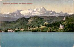 Reifnitz Am Wörthersee Mit Den Karawanken (726/82) * 1915 - Österreich