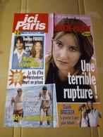 """Affiche """"ici Paris"""" N°3189 Alexia Laroche-Joubert ; Johnny D. Et Vanessa Paradis ; C. Brasseur ; Sonia Roland Et C. Roc. - Affiches"""
