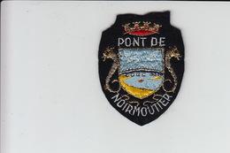 ECUSSON TISSU BRODE - PONT DE NOIRMOUTIER - Patches