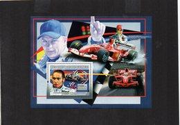 GUINEA. SPORTS. F1. LEWIS HAMILTON. MNH (4R1412) - Cars