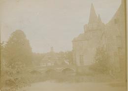 LAARNE OUDE ORIGINELE FOTO 12 X 9 CM PLUS MINUS 1900  - KASTEEL VAN LAARNE - ZIE MEERDERE AFBEELDINGEN - Laarne