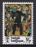 """TIMBRE NEUF DE BELGIQUE - """"LA GRANDE PYRAMIDE MUSICALE"""" (DETAIL), DE E. TYTGAT N° Y&T 1839 - Modern"""