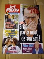 "Affiche ""ici Paris"" N°3195  Julien Lepers ; Annie Girardot ; Philippe Noiret ; Jordy ... - Affiches"