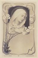 Litho Art Nouveau B.L. Et S Déposé,  E Azambre Vierge Marie (pk58456) - Heiligen
