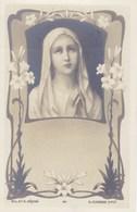 Litho Art Nouveau B.L. Et S Déposé,  E Azambre Vierge Marie (pk58457) - Heiligen
