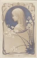 Litho Art Nouveau B.L. Et S Déposé,  E Azambre Vierge Marie (pk58458) - Heiligen