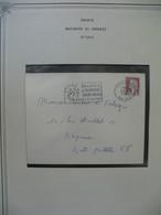 Lettre 1964  Marianne De Decaris  N°1263  Cachet Paris XVIII Cachet Temporaire Philatec  1964 Philatélie & Technique - Crète