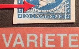 R1917/118 - NAPOLEON III N°14A - PC 2710 : RODEZ (Aveyron) - VARIETE ➤➤➤ Gros Point Blanc Devant Le Cou - 1853-1860 Napoleon III
