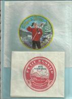 - 88 - Vosges -  Anglemont - Lot De 2 Papiers Sulfurisés - Munster- Réf.33. - Publicités