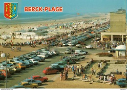 62 - BERCK PLAGE - LA PLAGE (VIEILLES VOITURES) - Berck