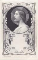 Litho Art Nouveau B.L. Et S Déposé,  E Azambre Jesus (pk58462) - Heiligen