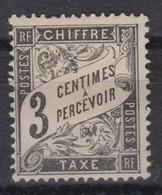 FRANCE  TAXE  1881-92:   Le Y&T 12 Neuf (*) - Portomarken