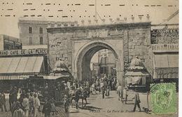 Tramway à Cheval à Tunis Horse Tram Envoi à Gabes 1906 - Tramways