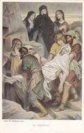 Jesus, Prof. H Hofmann, La Sépulture (pk58464) - Tableaux, Vitraux Et Statues