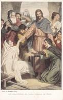 Jesus, Prof. H Hofmann, La Résurrection Du Jeune Homme De Nain (pk58466) - Tableaux, Vitraux Et Statues