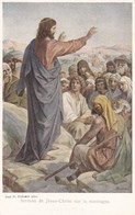 Jesus, Prof. H Hofmann, Sernom De Jésus Christ Sur La Montagne (pk58467) - Tableaux, Vitraux Et Statues
