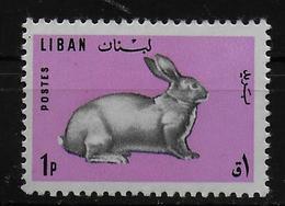 LIBAN   N° 257   *   Lapins - Lapins