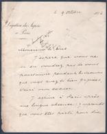Légation Du Japon à Paris. Correspondance Signée De Mr Sameshima.Convention Postale France/Japon. - Historische Documenten