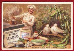 CHROMO LIEBIG S171 Fr  Cuisiniers  Pigeons Aux Petits Pois - Liebig