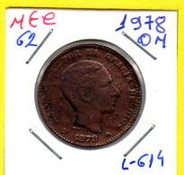 MEC 62 / - Republica Espanhola  - / 10 Centimes 1878 OM / Barcelona /- L-614 - Autres