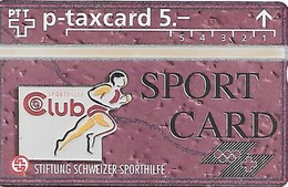 PTT-p: KP-93/56B 311L Stiftung Schweizer Sporthilfe - Sportcard Sporthilfe-Club - Schweiz