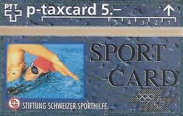 PTT-p: KP-93/56C 311L Stiftung Schweizer Sporthilfe - Sportcard Schwimmen - Schweiz