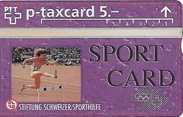 PTT-p: KP-93/56H 403L Stiftung Schweizer Sporthilfe - Sportcard Leichtathletik - Schweiz