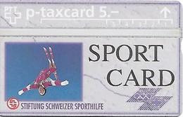 PTT-p: KP-93/56J 405L Stiftung Schweizer Sporthilfe - Sportcard Skiakrobatik - Schweiz
