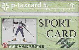 PTT-p: KP-93/56K 405L Stiftung Schweizer Sporthilfe - Sportcard Ski Nordisch - Suisse