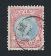 NETHERLANDS 1893/1896  PRINCESS WILHELMINA Nº 47 - Usati