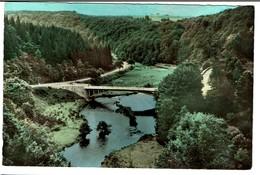 Houffalize - Le Pont De Rensiwez - Circulée - Edit. Lander Eupen -  2 Scans - Houffalize