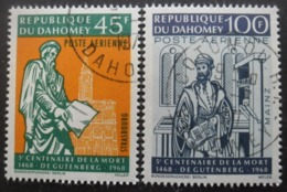 DAHOMEY Poste Aérienne N°73 Et 74 Oblitérés - Timbres