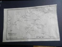 8g) GERMANIA RETE RADIO TELEGRAFICA COLLEGAMENTI INTERNI GERMANY TELEGRAPHIC RADIO NETWORK INTERNAL CONNECTIONS 1924 - Maps
