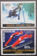CENTRAFRIQUE N°262 Et 263 Oblitérés - Timbres