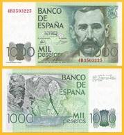 Spain 1000 Pesetas P-158 1979 UNC Banknote - [ 4] 1975-… : Juan Carlos I