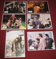 Clint Eastwood TIGHTROPE Genevieve Bujold  - 6x Yugoslavian Lobby Cards - Fotos