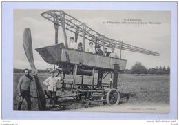 Aviation Effrayante Carcasse D'énorme Aérobus - Orgeville 1re Série Hélice - ....-1914: Précurseurs