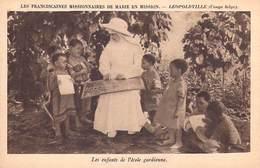 Afrique-.LEOPOLDVILLE Congo Belge -Les Enfants De L'école Gardienne- Les Franciscaines Missionnaires De Marie En Missio - Kinshasa - Léopoldville