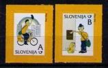 ESLOVENIA 2011 - CARTEROS - COMICS - Slovénie